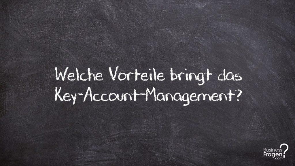 Vorteile Key-Account-Management