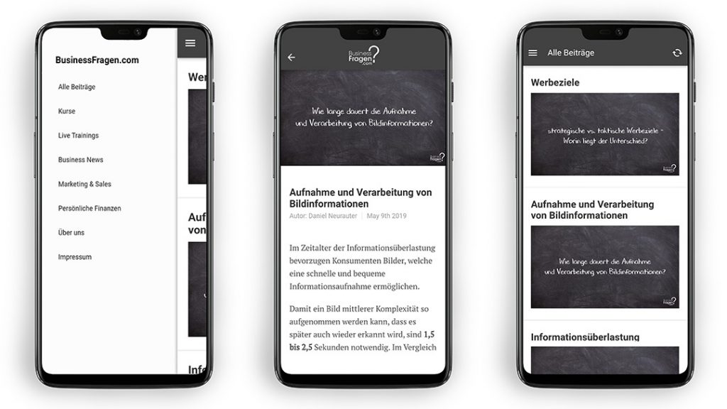 BusinessFragen App