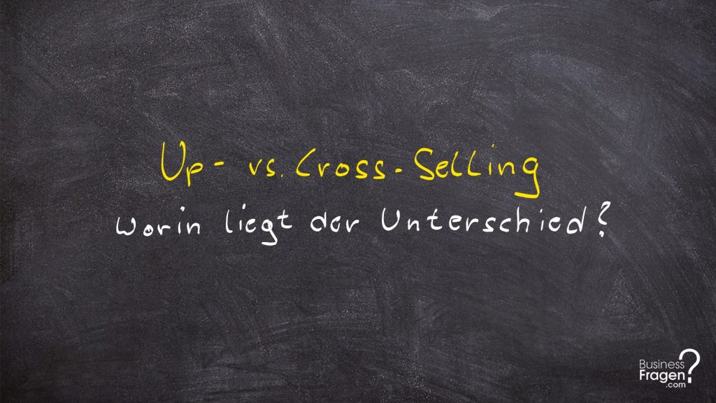 Up-Selling vs. Cross-Selling