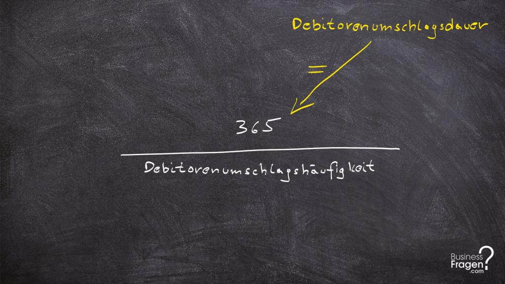 Debitorenumschlagsdauer