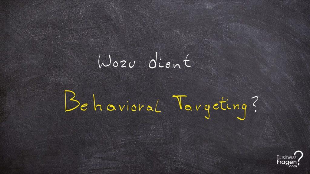 Behavioral Targeting