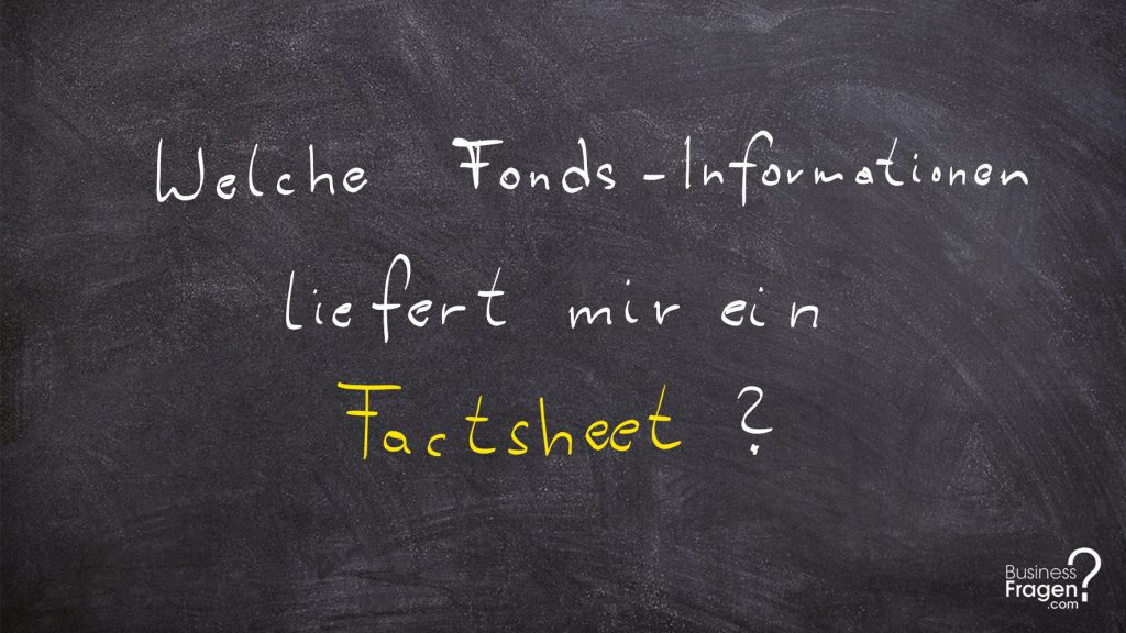 Factsheet Definition (Deutsch)
