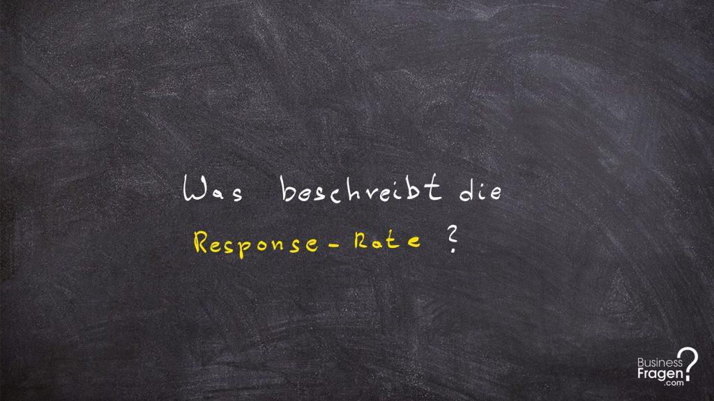 Response-Rate