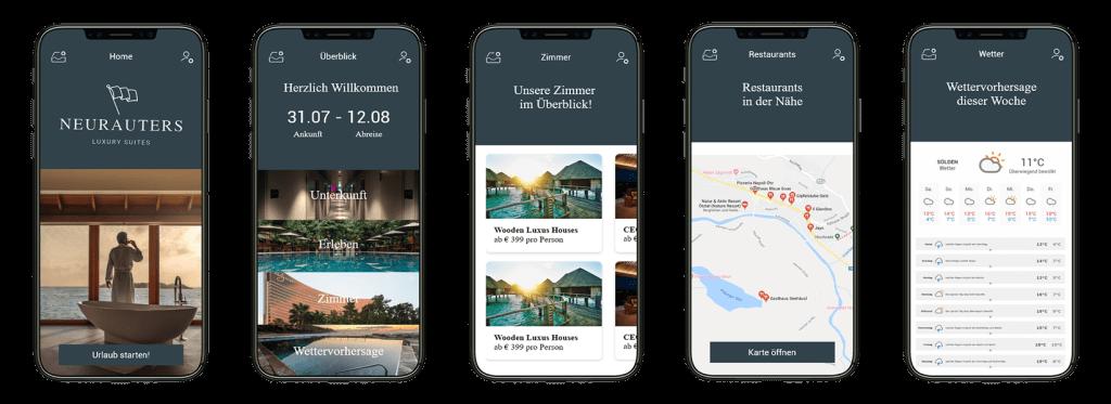 mobile hotel app