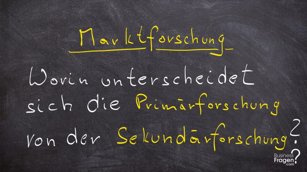 marktforschung definition