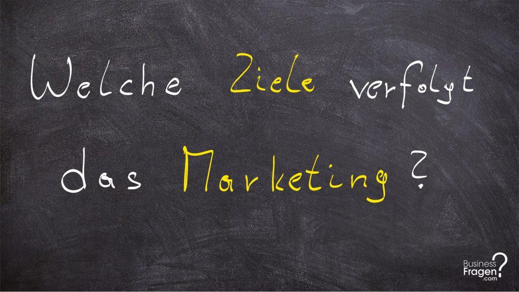 Ziele Marketing